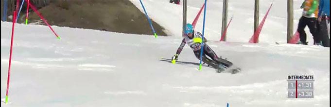 Lelde Gasūna 2015 Pasaules Kausā Are slaloms