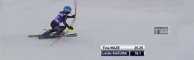 L.Gasūna PK slalomā Levi, 15.11.2014