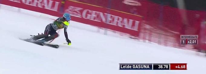 Lelde Gasūna 2015 Pasaules Kausā Maribor