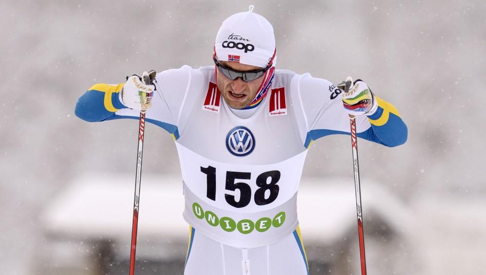 Nortugs zviedru tērpā uzvar FIS sacensībās Bruksvalarnā