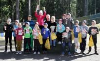 Lidojošie slēpotāji sadalījuši Ogres novada kausus