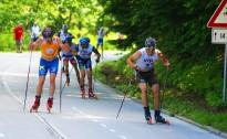 Četri Latvijas slēpotāji desmitniekā PK rollerslēpošanā sprintā