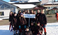 """""""Traverss-V"""" rezultāti Baltkrievijas atklātajā čempionātā kalnu slēpošanā"""