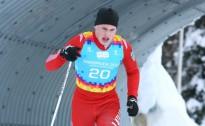 Slēpotājs A.Pētersons skiatlonā 79.vietā, krieviem viss pjedestāls (tiks papildināts)