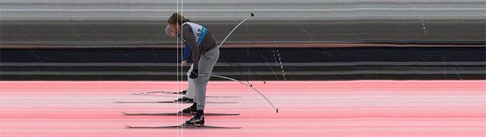 Andris Alniņš pārspēj Artūru Dīci tikai par 0,01s