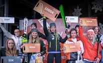 """""""Amber beverage group"""" paralēlajā slalomā Baltijas kausā uzvar Latvijas izlases līderi"""