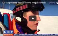 900'' Slēpošanas sacīkstes Pihā rīkojuši latvieši