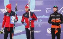 Skandināvijas kausa posma noslēgumā mūsējie slēpotāji iepriecina iedzīšanā