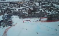Latvijas izlase kalnu slēpošanā pasaules čempionātā Šladmingā. (9.02)