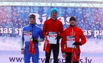 Noskaidroti Sportland ziemas kausa ieguvēji slēpošanas sprintā