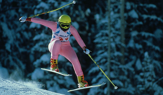 Ulla Lodziņa 1989. gada PČ Vail Beaver Creek