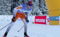 Slēpotājs A.Liepiņš pārspēj igauņus un uzvar FIS sacensībās Priekuļos
