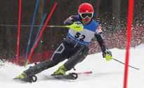 Latvijas kausā kalnu slēpošanā Siguldā divi olimpieši