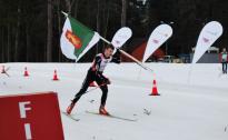 Slēpošanas stafetēs jauni uzvarētāji Latvijas Ziemas olimpiādē