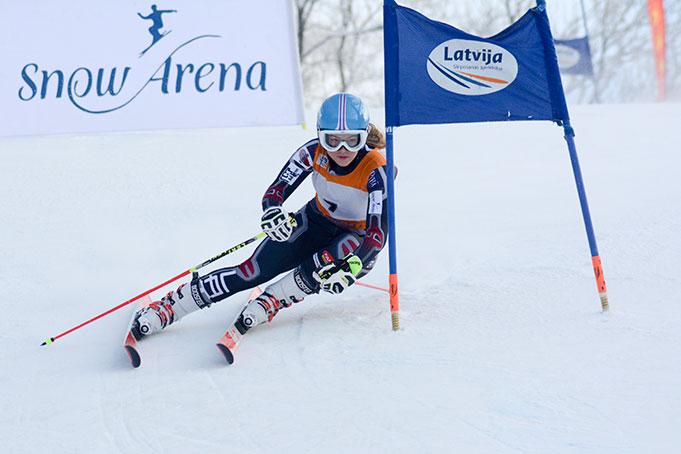 Žanete Gedra, FIS Latvijas Kauss 1. posms, milzu slaloms, 2016. gada 23. janvāris