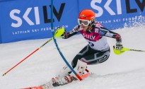 Žaks un Žanete Gedras uzvar Latvijas kausā FIS slalomā