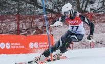 Latvijas kausa 2.posmā slalomā jauniešiem daži jauni uzvarētāji