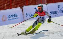 LK slalomā jauniešiem trīs klubiem līdzīga cīņa par godalgām