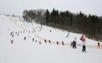 """""""Siguldas kauss 2012"""" kalnu slēpošanā, snovbordā un distanču slēpošanā"""