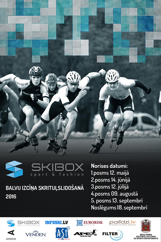 Skibox balvas izcīņa skrituļslidošanā