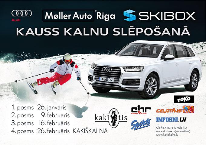 Audi Ski Box kauss 2016