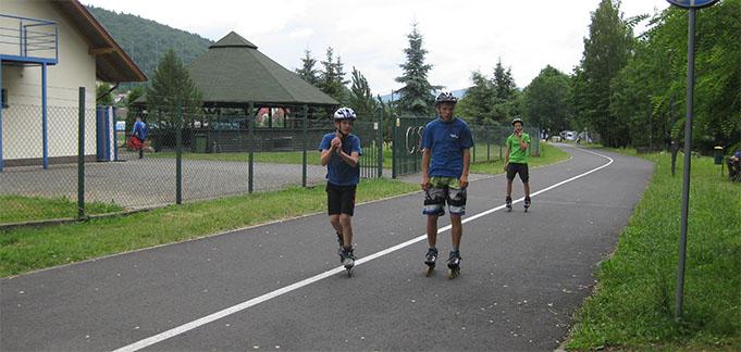 Siguldas tramplīnlēcēji aizvadījuši treniņnometni Polijā