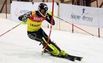 K.Zvejnieks un L.Gasūna vēlreiz uzvar Baltijas kausa FIS slalomā