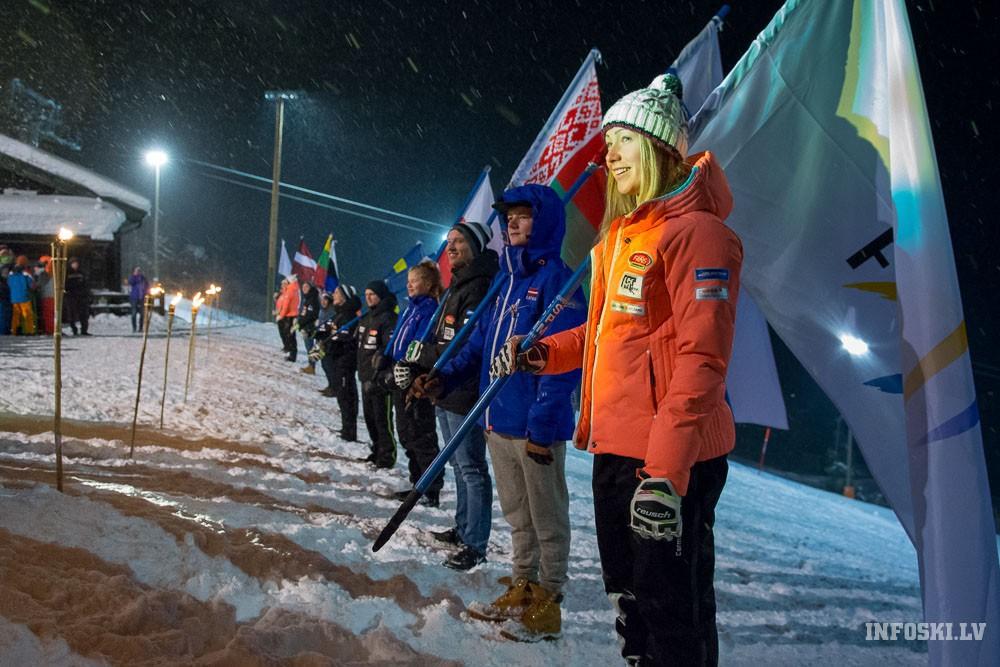 Rekordskaits valstu Baltijas kausa 1.posmā un FIS sacensībās kalnu slēpošanā