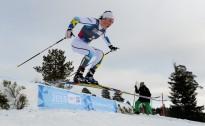 Pirmajā disciplīnā Lillehammerē R.Vīgantam sekunde pietrūkst līdz desmitniekam