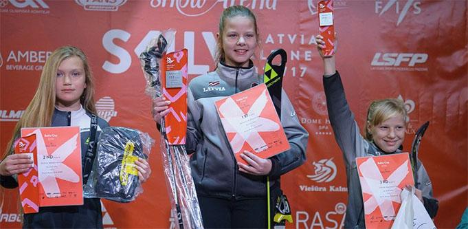 BERESTENKO Sofya (RUS), ANSONSKA Patrīcija (LAT), SAĻŅIKOVA Frīda (LAT), Baltic Cup 2017 1st Round