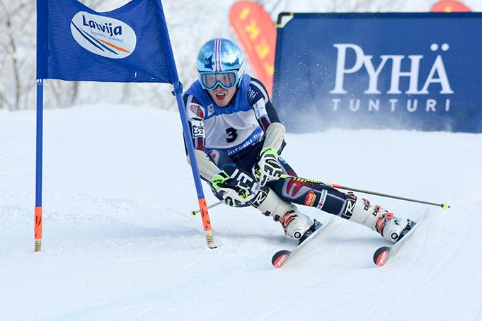 Miks Zvejnieks, FIS Latvijas Kauss 1. posms, milzu slaloms
