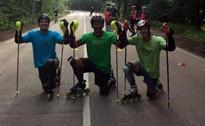 Latvijas skrituļslalomisti dodas uz pasaules kausu Itālijā