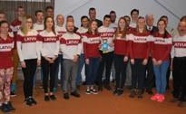 Latvijas jaunie sportisti gatavi cīņām Lillehammerā