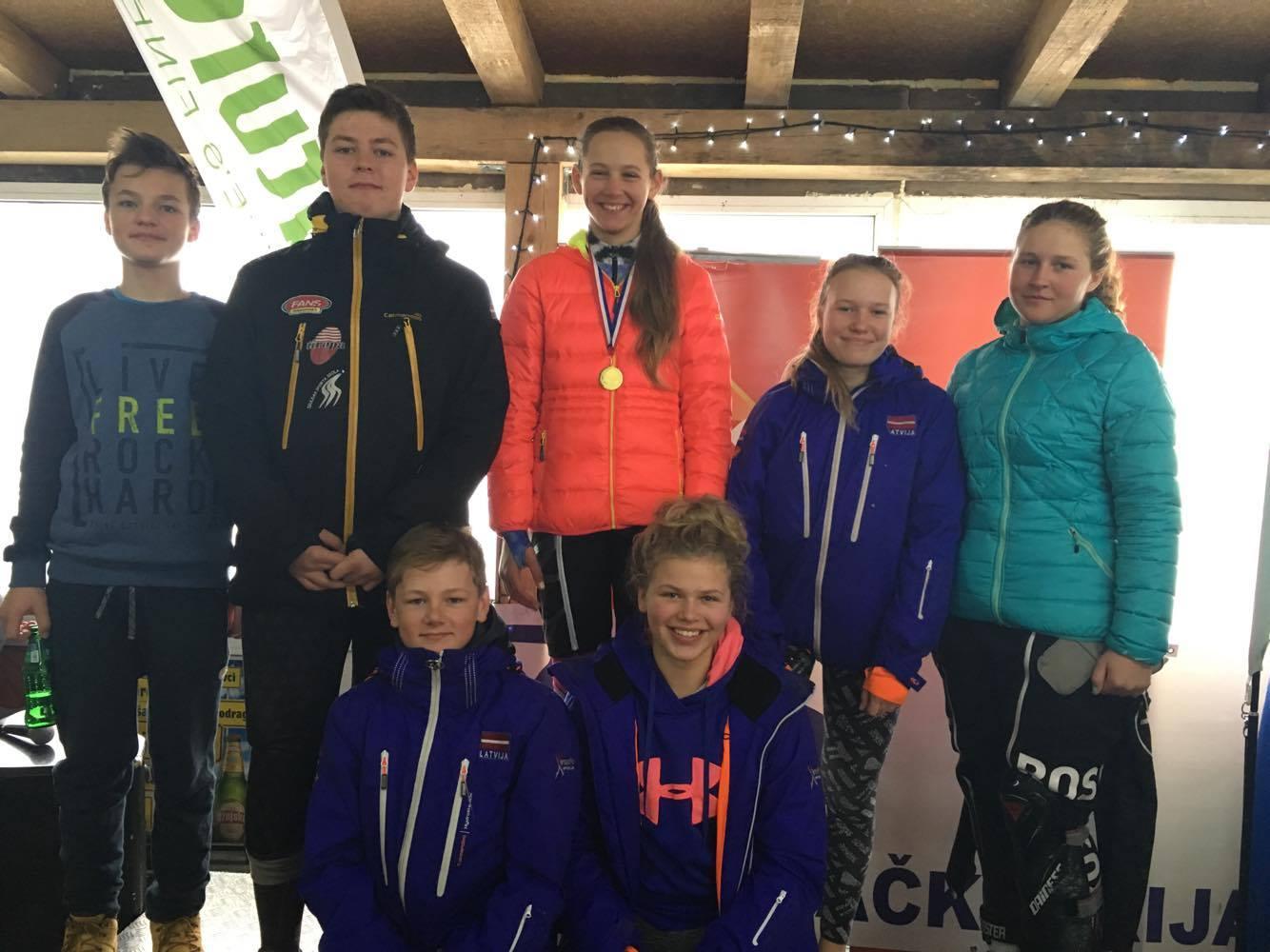 Dženifera Ģērmane ar 2 uzvarām uzsāk bērnu FIS četrgadi!
