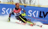 Žaks Gedra divās dienās gūst trīs uzvaras Baltijas kausa sacensībās kalnu slēpošanās