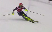 Norvēģis Kristofersens uzvar slalomā, K.Zvejniekam 48.rezultāts