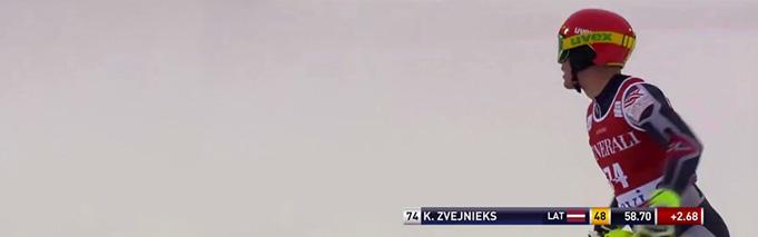 K.Zvejnieks PK slalomā Levi, 16.11.2014