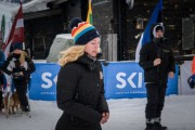FIS Baltic Cup 2018 3. posms, IČ milzu slalomā apbalvošana, Foto: Emīls Lukšo
