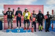 FIS Baltic Cup 2018 3. posms, LČ slalomā apbalvošana, Foto: Emīls Lukšo
