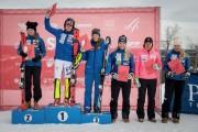 FIS Baltic Cup 2018 3. posms, IČ slalomā apbalvošana, Foto: Emīls Lukšo