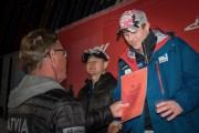 FIS Baltic Cup 2018 3. posms, jauniešu un meistaru GS apbalvošana, Foto: Emīls Lukšo
