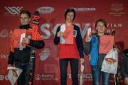 FIS Baltic Cup 2018 3. posms, jauniešu un meistaru SL apbalvošana, Foto: Emīls Lukšo