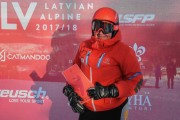 FIS Baltic Cup 2018 3. posms, jauniešu un meistaru PSL apbalvošana, Foto: Emīls Lukšo