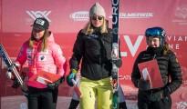 FIS Baltic Cup 2018 3. posms, LČ milzu slalomā apbalvošana, Foto: Emīls Lukšo